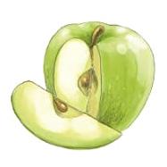 gruenem-apfel